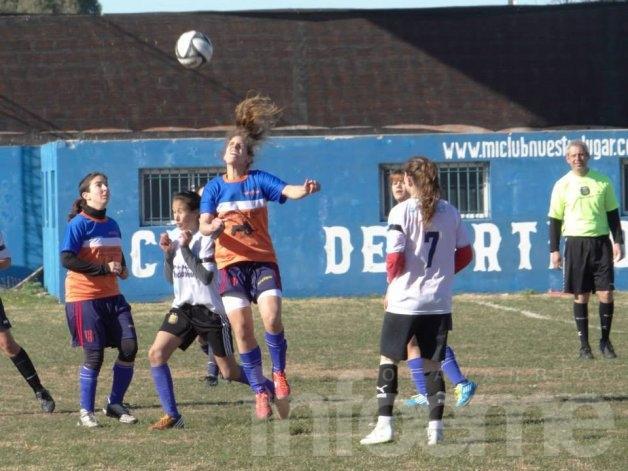 Las chicas jugaron los cuartos de final