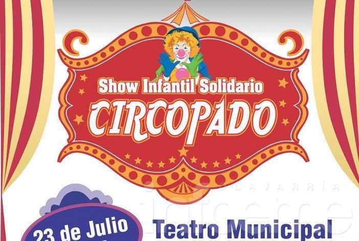 Show infantil solidario en vacaciones