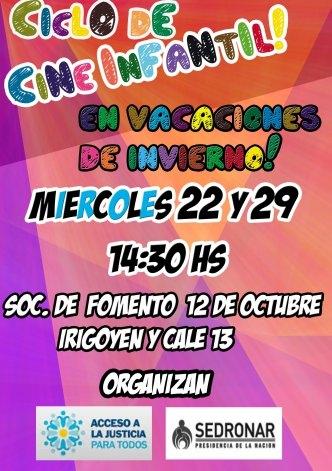 Cine Infantil en el barrio 12 de Octubre