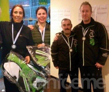 Iturregui/Lascioli y Muñoz/Di Mauro se quedaron con el Provincial de Ladies y Veteranos