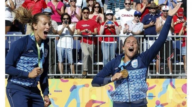 El beach voley femenino sumó otro oro para la Argentina