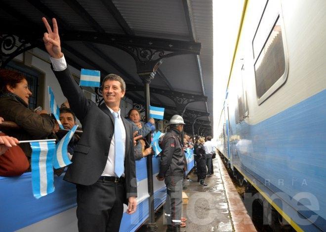 Anuncian que en septiembre funcionará el tren 0 Km.