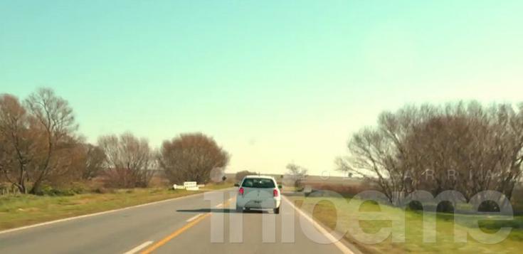 Un viaje de Tandil a Olavarría en 40 segundos