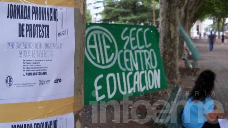 Inicio de clases en duda: ATE anunció medidas de fuerza para el 3 de agosto
