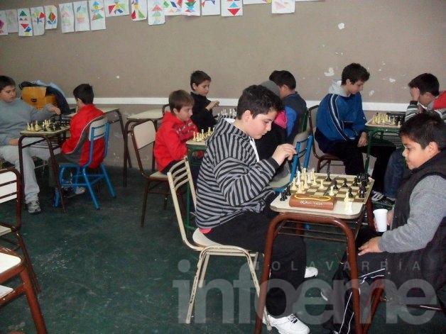 Se jugó la tercera fecha del Circuito Olavarriense de Ajedrez Infantil