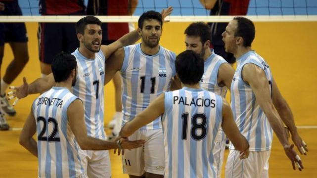 Argentina ganó la medalla de oro en vóley