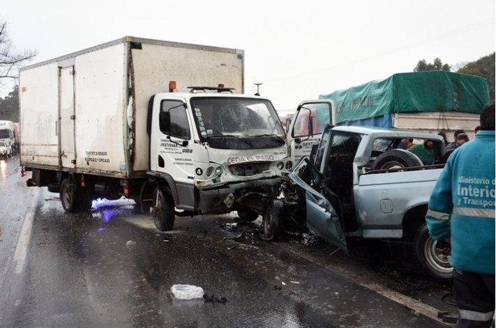 Otro fatal accidente en la ruta 3: dos muertos