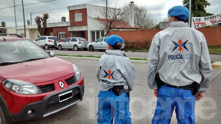 El trabajo de la Policía Local luego de más de 24 horas de salir a la calle