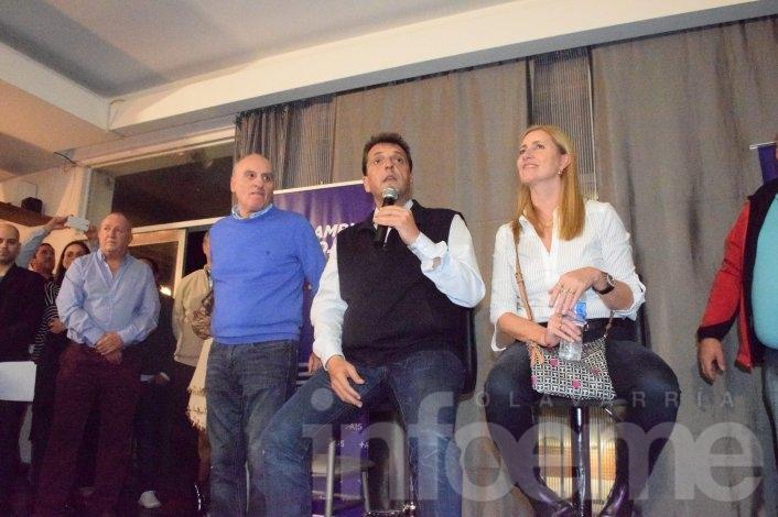 """Sergio Massa: """"No somos veletas que nos movemos por un cheque o por una encuesta"""""""