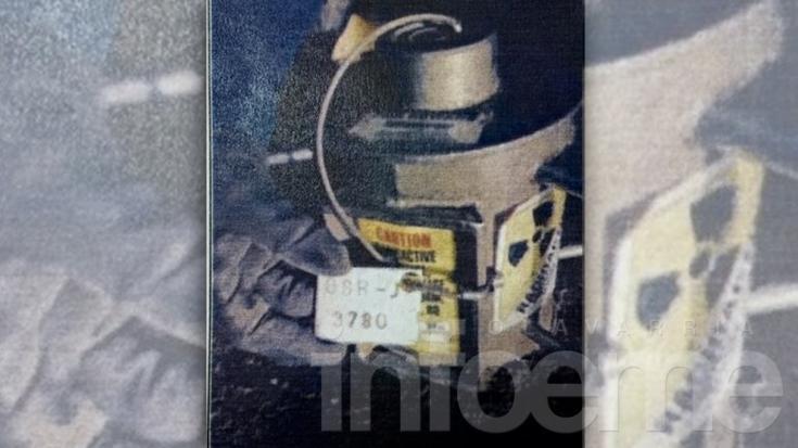 Se perdió un contenedor radioactivo en Tierra del Fuego
