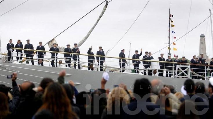 La Fragata Libertad anclaría en puerto inglés