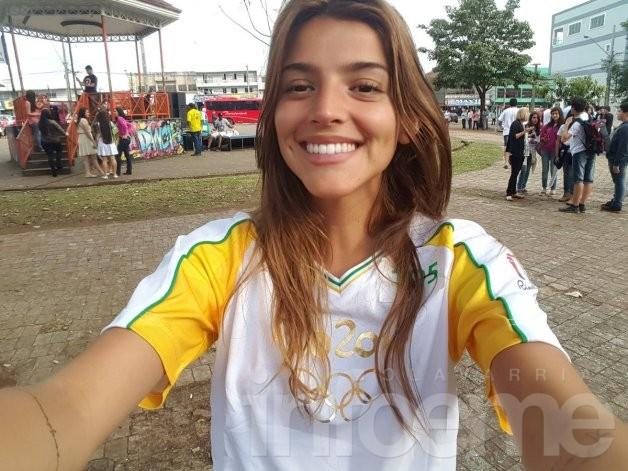 Calu Rivero causó polemica en los juegos Olímpicos