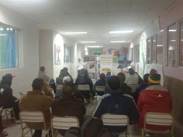 Activistas por la Paz en cárceles de Sierra Chica