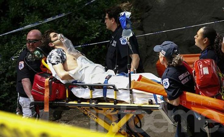 Herido de gravedad tras explosión en Central Park