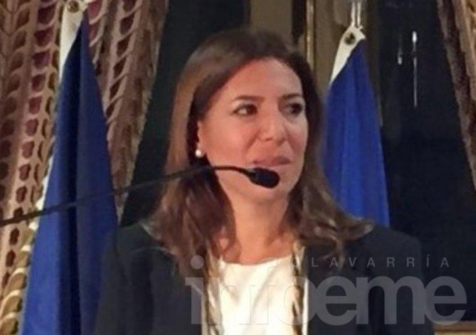 Funcionarias provinciales de Políticas de Género en Olavarría