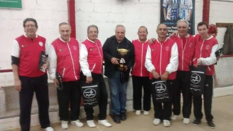 ¡Alvaro Barros Campeón!