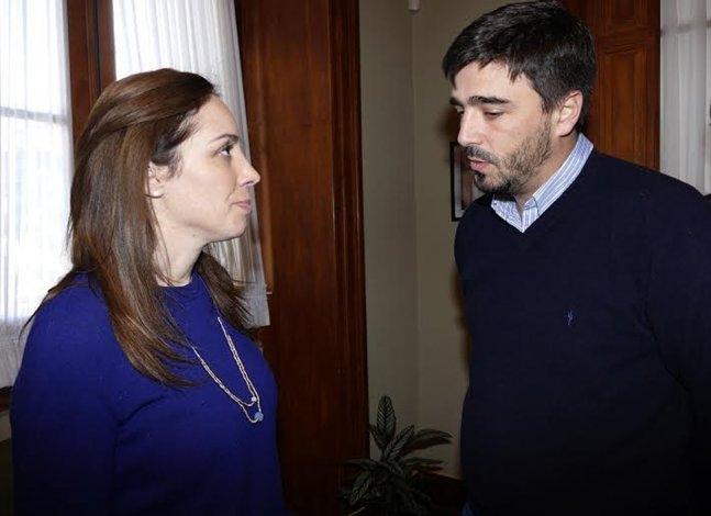 La Gobernadora María Eugenia Vidal estuvo en Azul