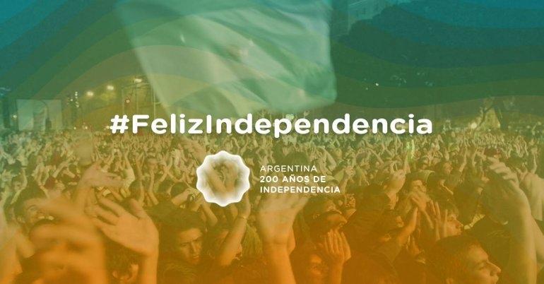 Así será la celebración del Bicentenario en todo el país