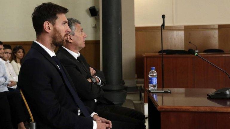 Escuchá las declaraciones de Messi ante la jueza