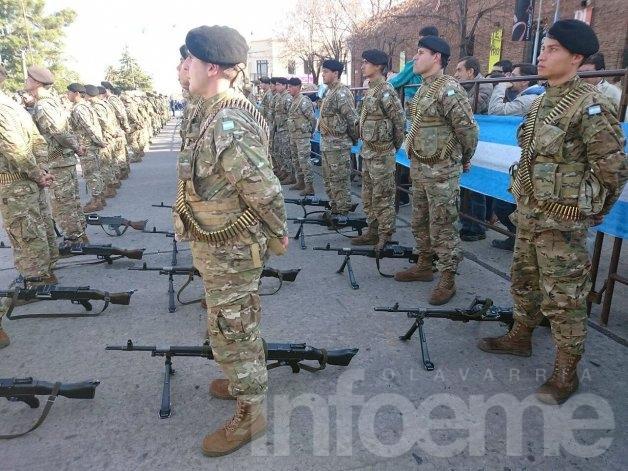 El Ejército Olavarría invita al desfile del 9 de julio