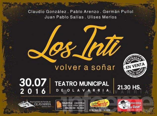 """Los Inti regresan para """"Volver a soñar"""""""