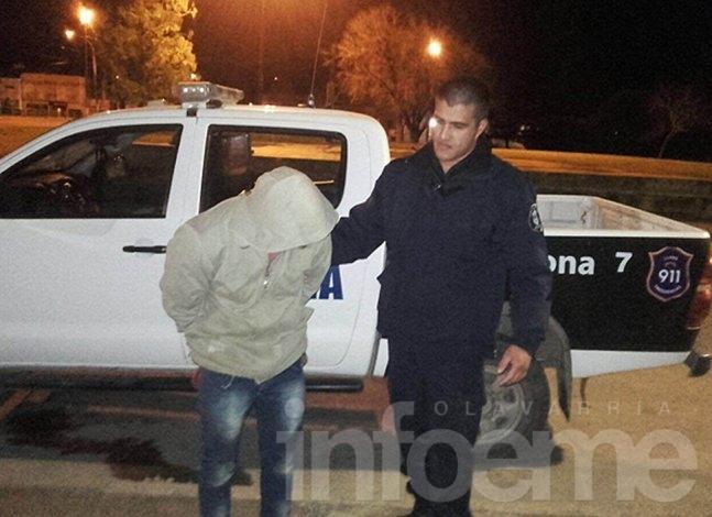 Policía detuvo a un hombre y aprehendió a otro