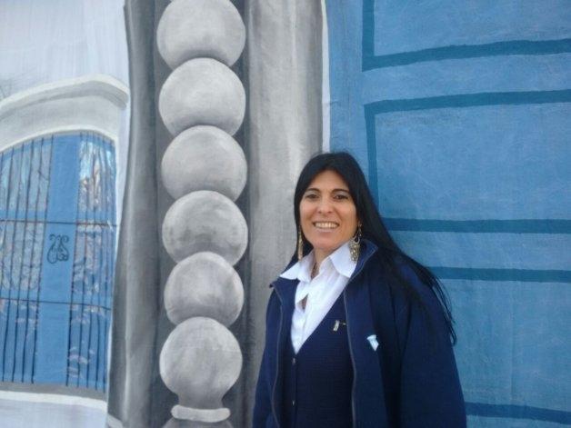 Réplica de la casa de Tucumán en el centro de Olavarria