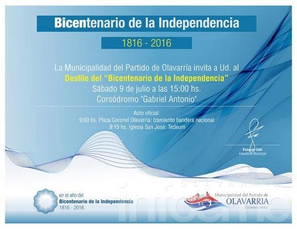 Los festejos en la ciudad por el Bicentenario