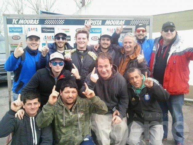 Bebo Weimann logró su primer triunfo en TC Pista Mouras