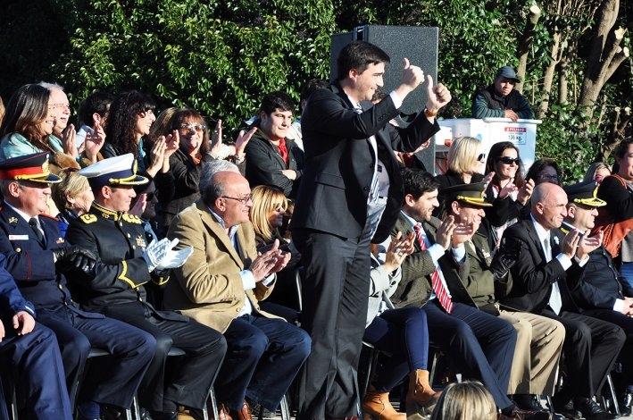El desfile del Bicentenario en imágenes