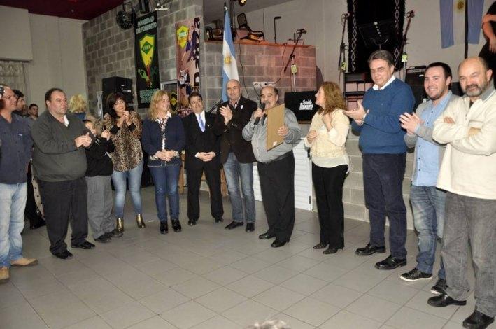 Peña del Bicentenario: se reconoció a José Lucero Pedráz