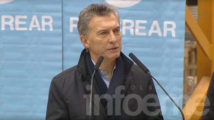 Macri anunció el relanzamiento de Procrear