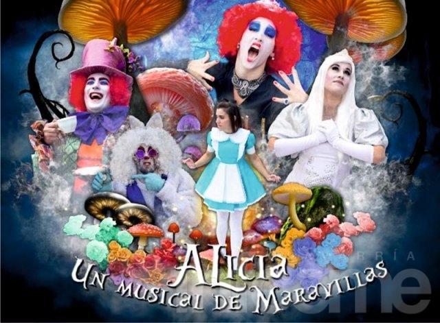"""Infoeme te invita al musical : """"Alicia un musical de maravilla"""""""