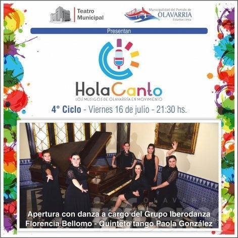 Gana tu entrada para ver Hola Canto.