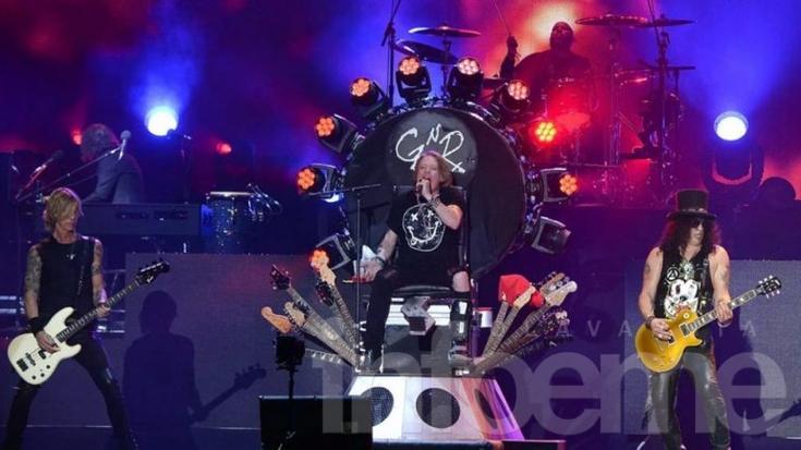 Guns N' Roses anunció su show en la Argentina