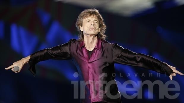 Mick Jagger será padre por octava vez a los 72 años