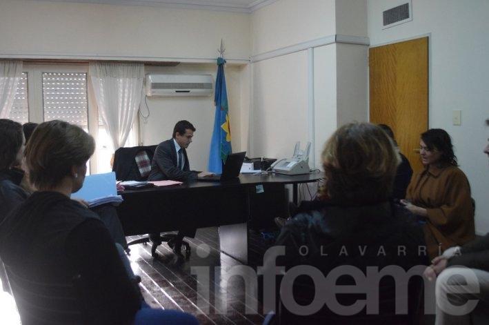Limpieza Hospital: Cuarto intermedio en el Ministerio