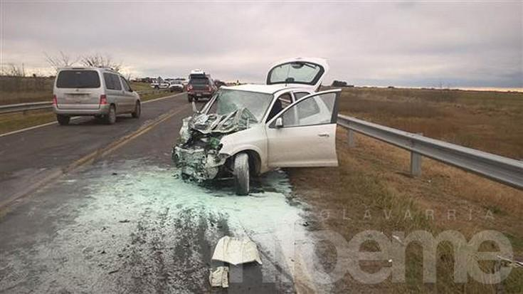 Dos hermanos olavarrienses murieron en un accidente sobre ruta 226