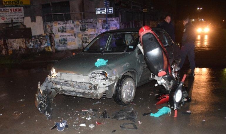 Impactante accidente en avenida Trabajadores