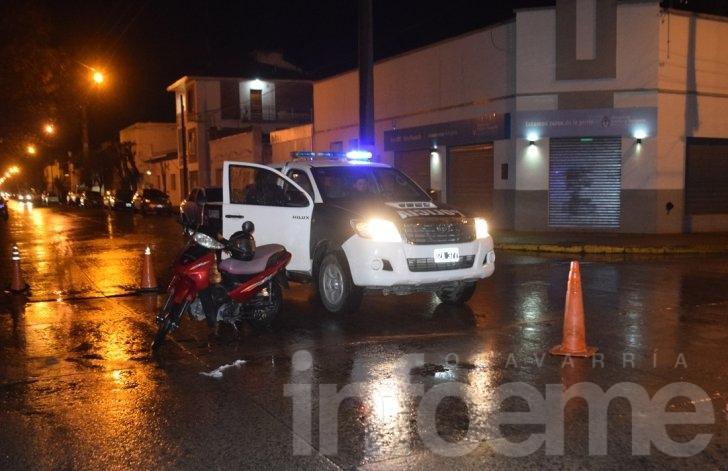 Otro choque, otra moto y otro herido