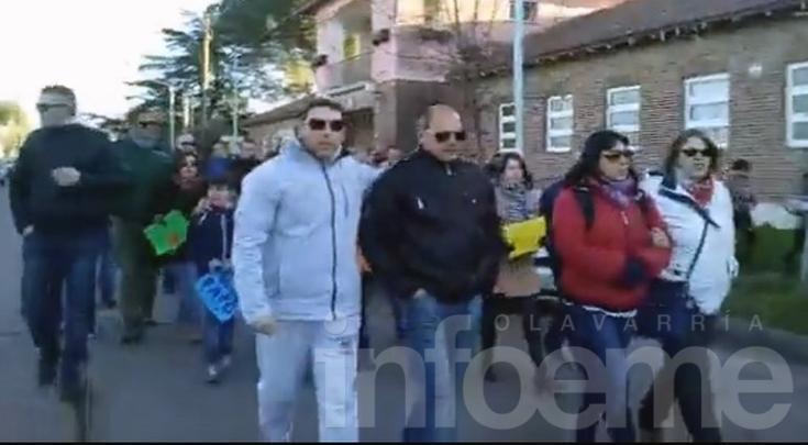 Video: así se manifestaban familiares y amigos de Paiz