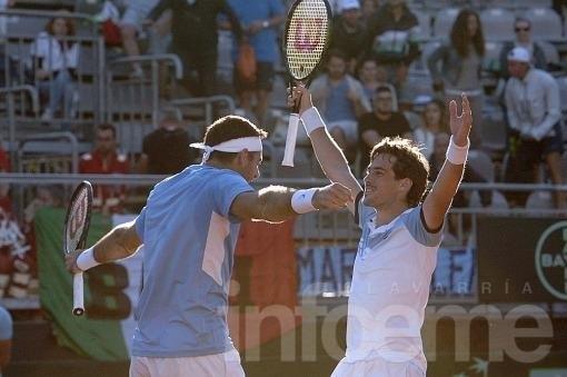 Argentina consigue ventaja en la serie con Italia