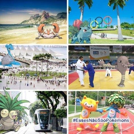 ¿Pokemon Go a los juegos olímpicos?