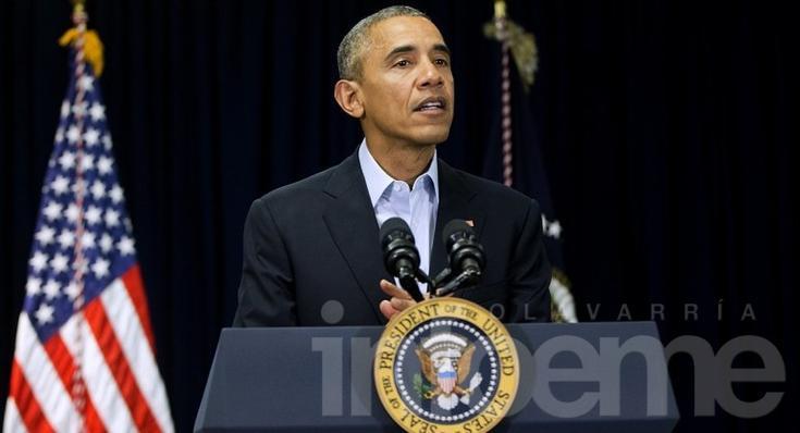 Obama condeno el asesinato a los oficiales
