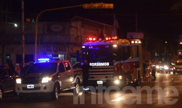 Video: así trabajaron los bomberos en el accidente