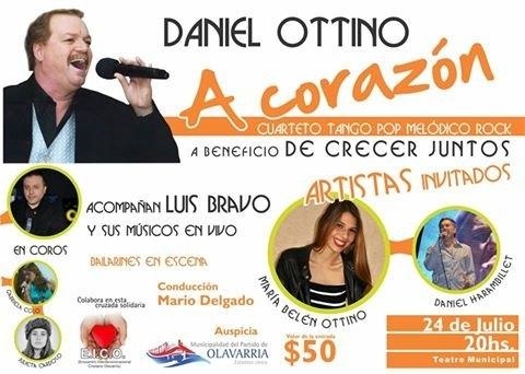 Participá  por tu entrada para ver a Daniel Ottino