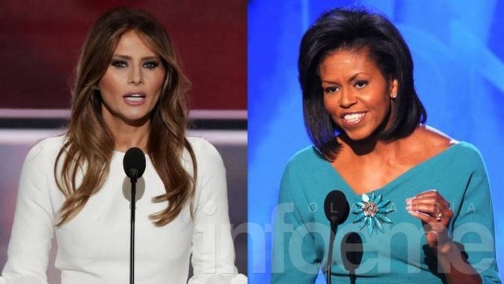 Melania Trump copió un discurso de Michelle Obama