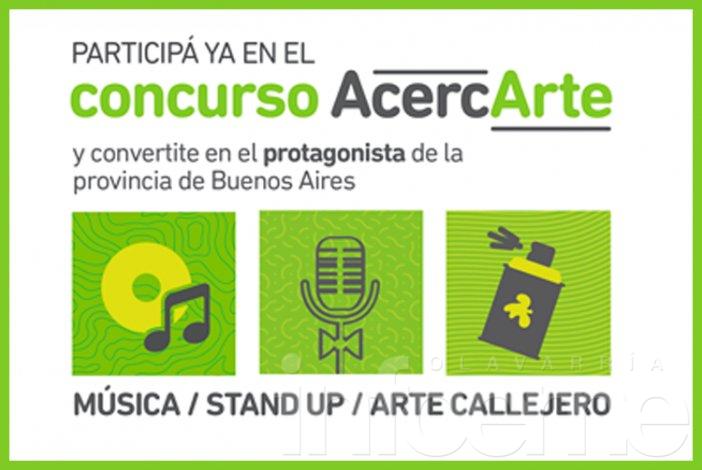 ¡A filmar! Se puso en marcha un nuevo concurso de AcercArte