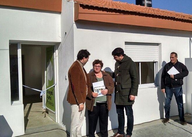 Entregaron viviendas en el barrio Químico de Sierras Bayas