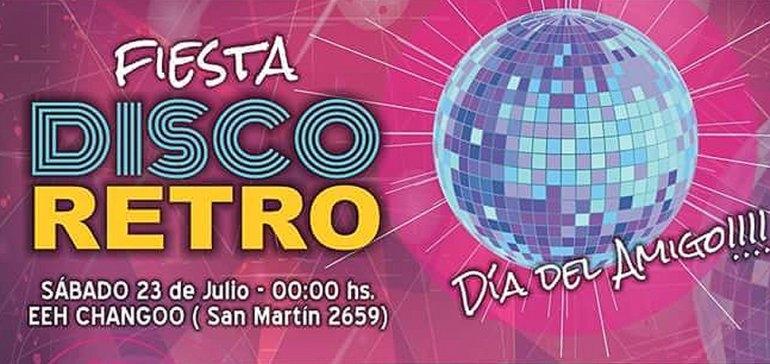 """Infoeme te invita a la Fiesta Disco Retro """"Día del amigo"""""""